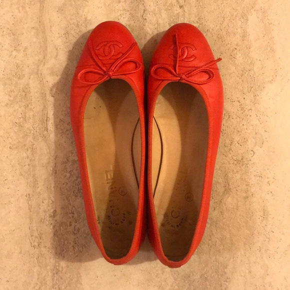 71ce52833501 CHANEL Shoes - Chanel ballerinas size 38